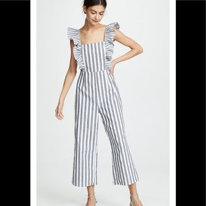 The fifth label flora stripped jump suit